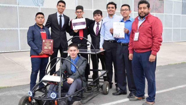 Estudiantes del CECyT2 crean Go Kart sustentable