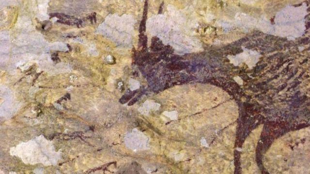 Arqueólogos de la Universidad Griffith hallaron la pintura