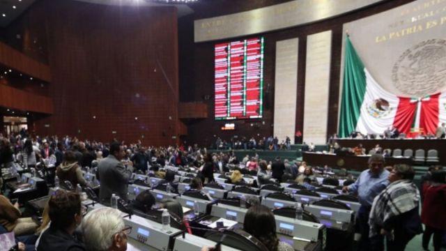 Foto: Sesión en la Cámara de Diputados