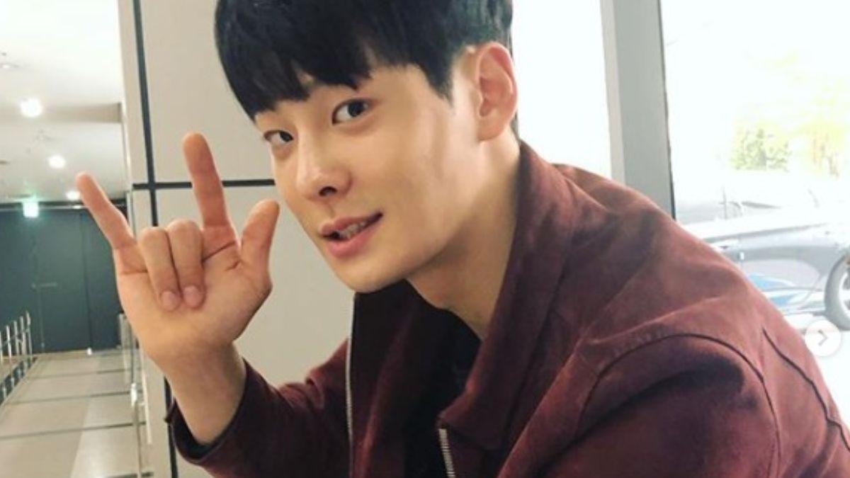 Foto: Cha In-Ha, actor y cantante surcoreano de K-Pop.