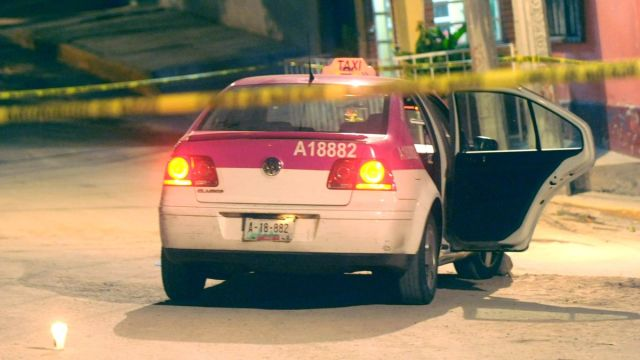 Foto: Hallan un cuerpo dentro de un taxi de la Ciudad de México. Cuartoscuro/Archivo