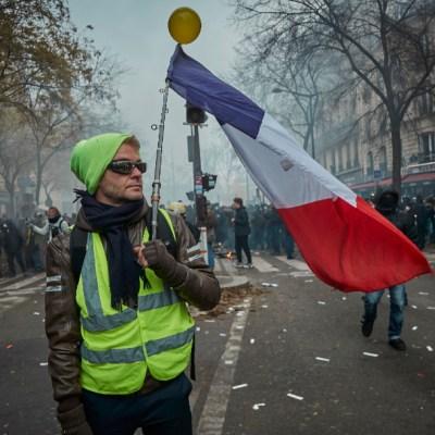 FOTO Gobierno de Francia sigue firme en reforma de pensiones, a pesar de protestas (Getty Images)