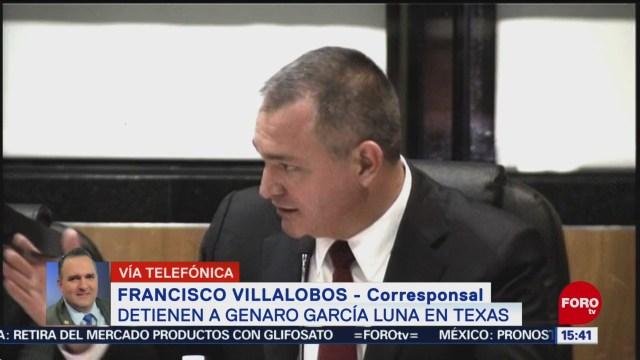 FOTO: Genaro García Luna Comparece Texas