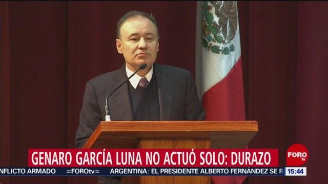 FOTO: Genaro García Luna No Actuó Solo Asegura Durazo