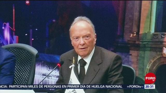 Foto: Gertz Manero Expectativas Triunfo Ley Extinción Dominio 6 Diciembre 2019