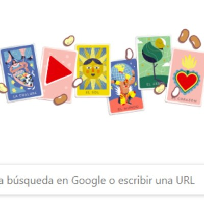 IMAGEN: Google homenajea lotería mexicana con doodle interactivo, el 09 de diciembre de 2019