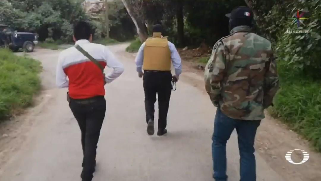 'Grupo Halcón' vigila Santa Rosa Xochiac