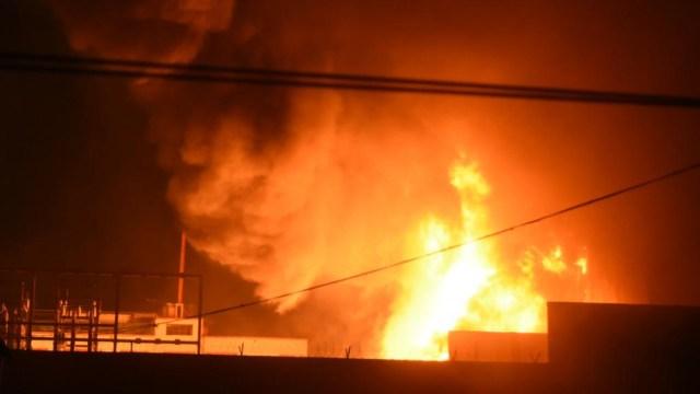 incendio subestacion cfe