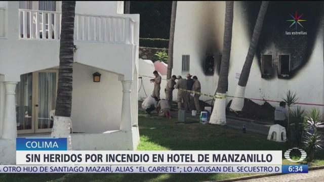 incendio consume hotel en manzanillo