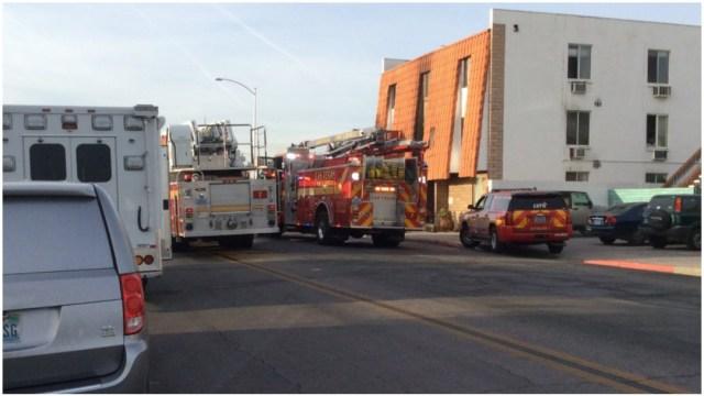 Foto: Al menos seis personas murieron tras incendio en edificio de Las Vegas, 21 de diciembre de 2019 (@LasVegasFD)