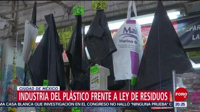 Foto: Industriales Consecuencias Prohibir Bolsas Plástico 3 Diciembre 2019