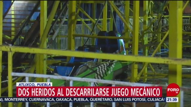 Foto: Juego Mecánico Atlixco Puebla Falla 26 Diciembre 2019