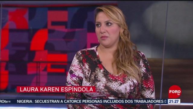 Foto: Karen Espíndola Entrevista Completa Forotv Hoy 5 Diciembre 2019