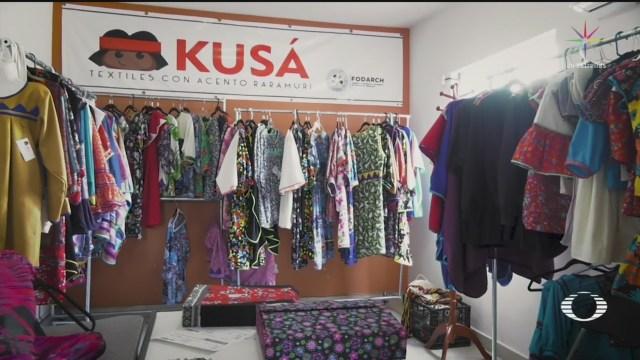 Foto: Kusá Empresa Textil Creada Mujeres Rarámuris 10 Diciembre 2019