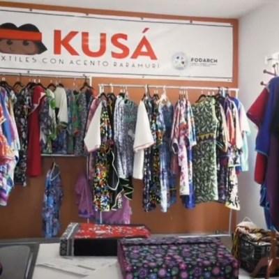 KUSÁ: la empresa textil creada por mujeres rarámuris