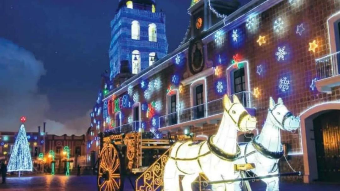 La Navidad llega a Atlixco, Puebla, con la Villa Iluminada