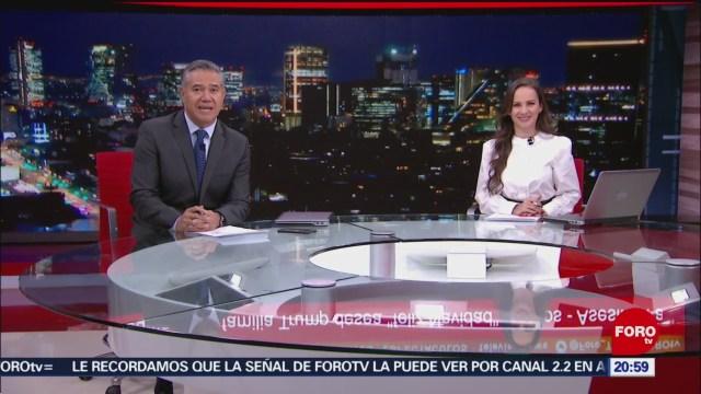 Foto: Las Noticias Ana Francisca Vega Programa Completo Forotv 25 Diciembre 2019