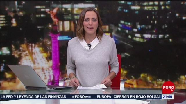 Foto: Las Noticias Ana Francisca Vega Programa Completo Forotv 9 Diciembre 2019