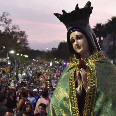 VIDEO: Peregrinos celebran las Mañanitas a la Virgen de Guadalupe