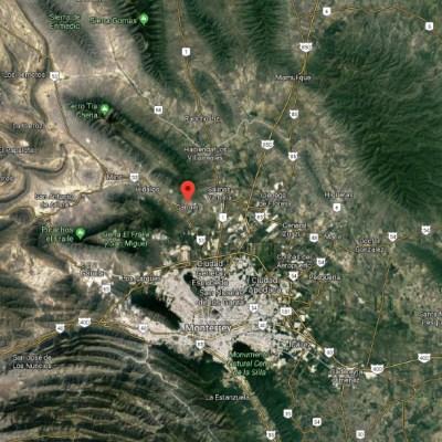 IMAGEN Disparan contra casa de secretario de Seguridad de El Carmen, NL (Mapa de Google Maps)