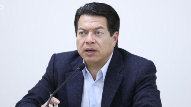 Mario Delgado, líder de los diputados de Morena.