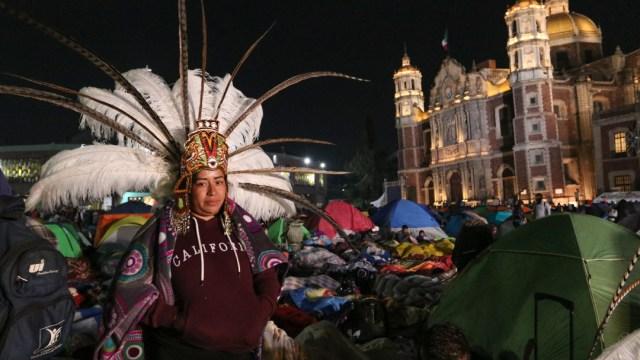 FOTO 9.8 millones de peregrinos visitaron la Basílica de Guadalupe (Cuartoscuro/Graciela López)