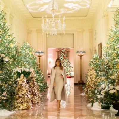 Fotos y videos: Así luce la Casa Blanca para esta Navidad