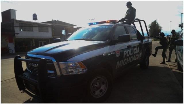 Imagen: Autoridades investigan el asesinato de cinco personas en Michoacán, 7 de diciembre de 2019 (JUAN JOSÉ ESTRADA SERAFÍN /CUARTOSCURO.COM)