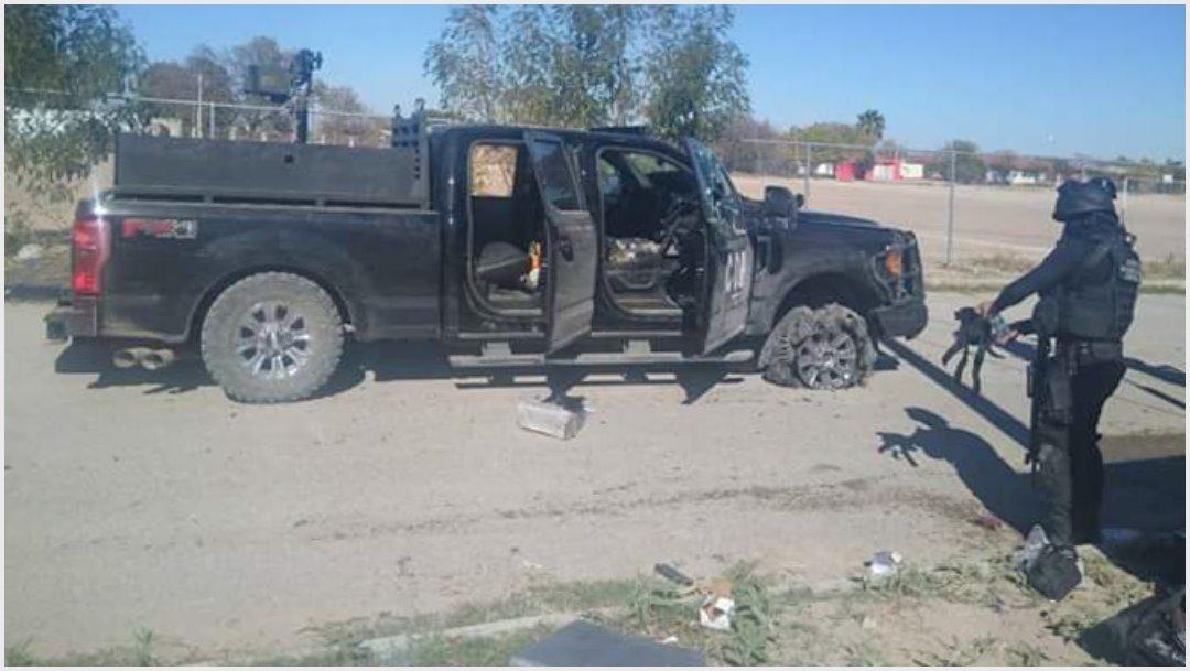 Foto: Siete civiles armados fueron abatidos este domigo en los límites con Nuevo León, 1 de diciembre de 2019 (ESPECIAL /CUARTOSCURO.COM)