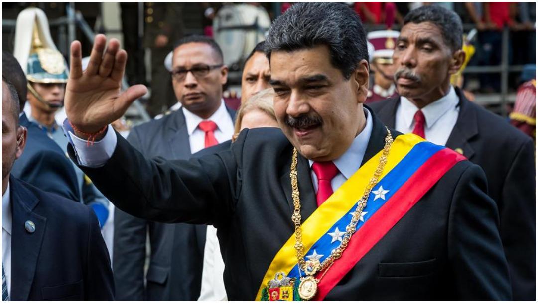 Imagen: Nicolás Maduro anuncia órdenes de aprehensión contra gente vinculada a Guaidó, 15 de diciembre de 2019 (EFE)