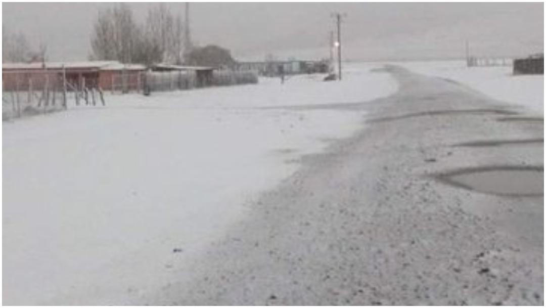 Foto: Usuarios de redes sociales tomaron fotos a la primera nevada de la temporada, 21 de diciembre de 2019 (Noticieros Televisa)