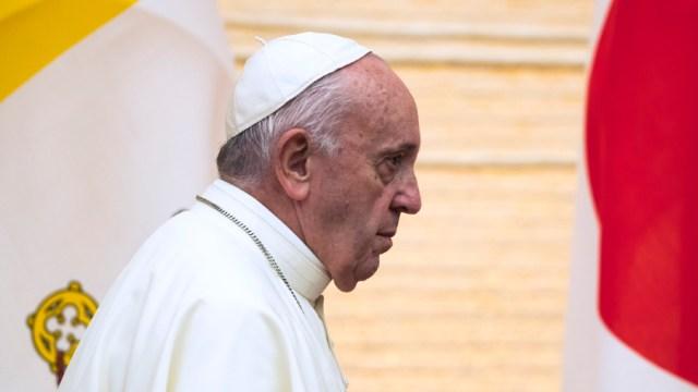 FOTO Tomás, el niño que pidió ser enterrado en el Vaticano (Getty Images)