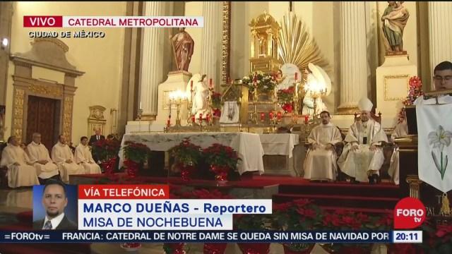 Foto: Ofician Misa Nochebuena Catedral Metropolitana 24 Diciembre 2019