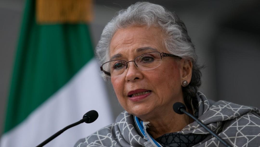 Olga Sánchez Cordero, secretaria de Gobernación, destacó también la importancia de incrementar la atención de los servicios de salud sexual y reproductiva para niñas, niños y adolescentes. (Foto: Cuartoscuro, archivo)