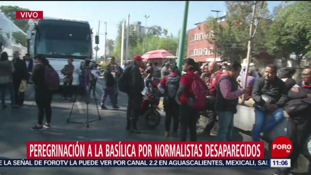 padres de los 43 realizaran peregrinacion a la basilica de guadalupe