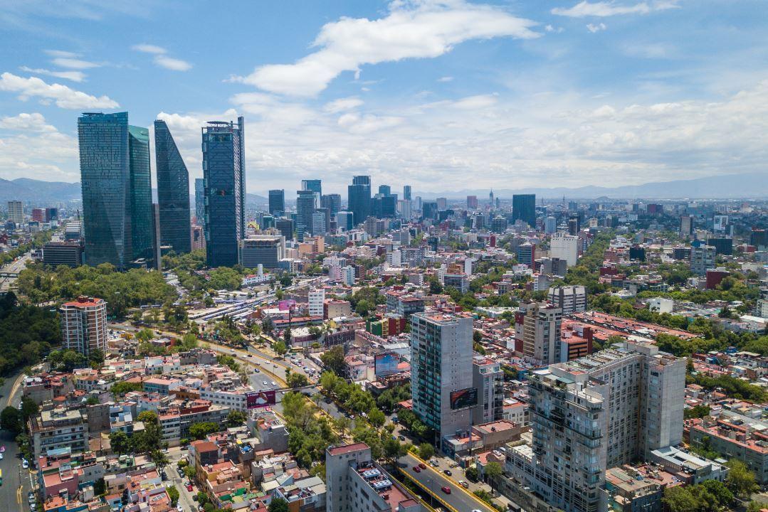 panoramica del valle de México del 9 de diciembre de 2019