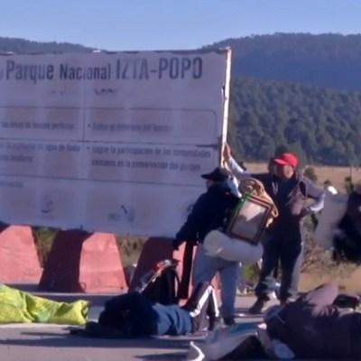 Peregrinos de Puebla atraviesan entre los volcanes para celebrar a la Guadalupana