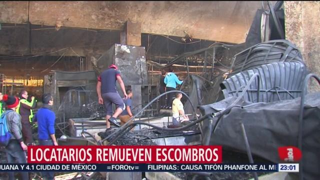 Foto: Pgjcdmx Integra Carpeta Investigación Incendio Mercado La Merced 25 Diciembre 2019