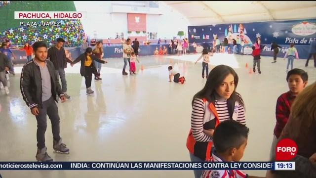 Foto: Pista Hielo Máxima Atracción Pachuca 27 Diciembre 2019