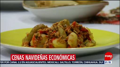 Foto: Platillos Económicos Cena Navideña 2019 23 Diciembre 2019