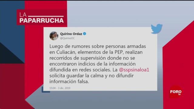 Foto: Presuntos Enfrentamientos Balaceras Culiacán Noticias Falsas 4 Diciembre 2019
