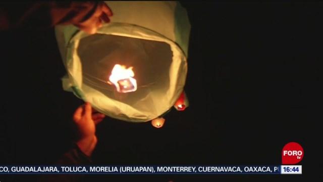 FOTO: Realizan Festival de Globos de Cantolla en Hidalgo, 8 diciembre 2019