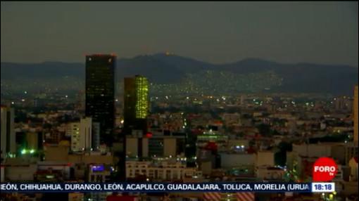 FOTO: Regular y mala calidad del aire en la Ciudad de México, 8 diciembre 2019