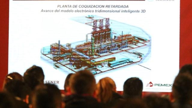 FOTO Rehabilitación total de refinerías concluirá en 2020, señala Rocío Nahle (Cuartoscuro/Victoria Valtierra)