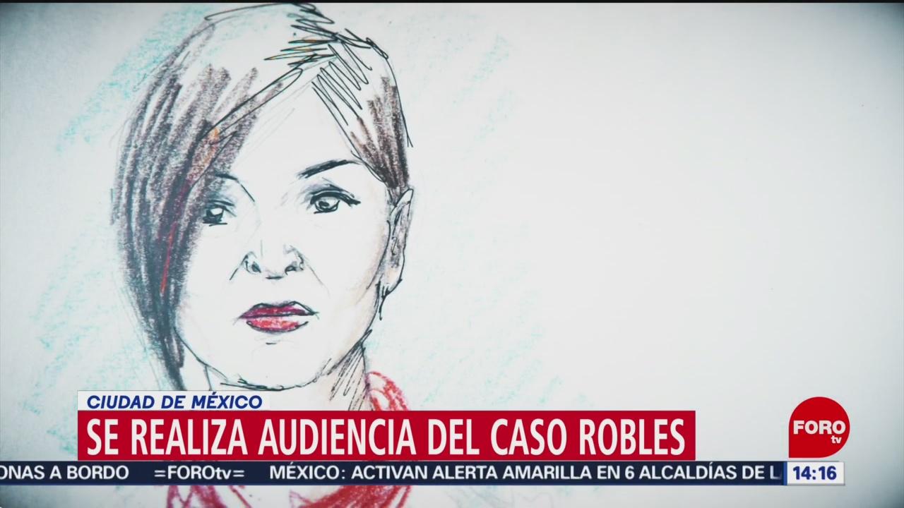 FOTO: Rosario Robles Comparece Audiencia Reclusorio Norte,