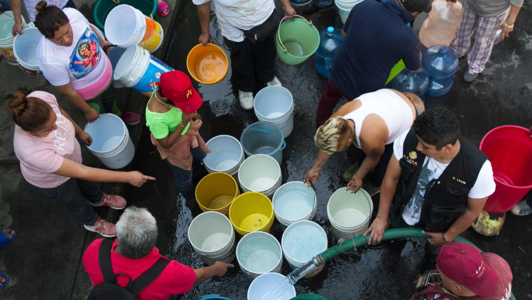 Megacorte de agua también afectará CDMX