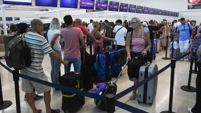 FOTO: Aeropuerto Internacional de Cancún, el 12 de diciembre de 2019