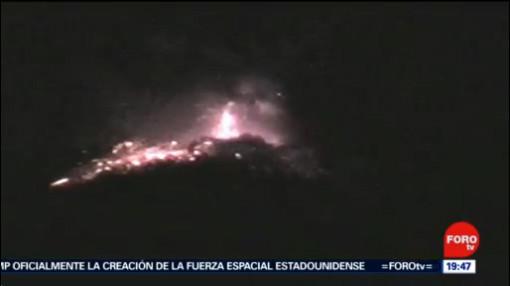 FOTO: 21 diciembre 2019, se cumplen 25 anos del despertar del volcan popocatepetl
