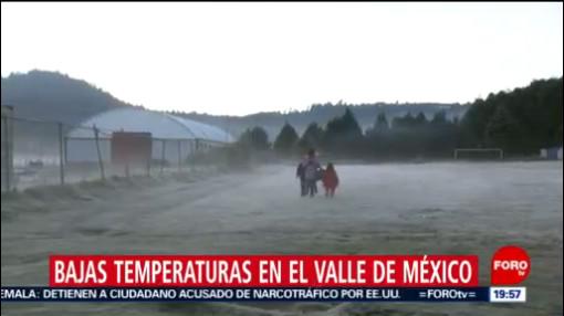 Foto: Bajas Temperaturas Mantienen Valle De México 23 Diciembre 2019