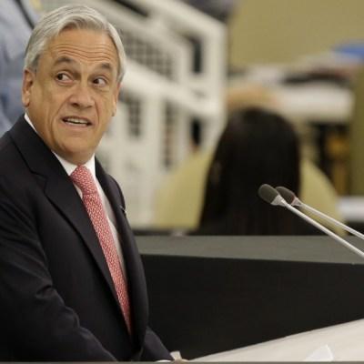 Foto: El presidente de Chile, Sebastián Piñera, durante la 68ª sesión de la ONU, 24 septiembre 2013